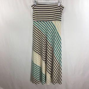 Monroe & Main Maxi Skirt / Tube Dress Lined Large